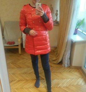 Пуховик пальто зимнее новое
