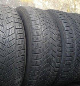 БУ 4 шт R20 255/55 Pirelli Scorpion Winter