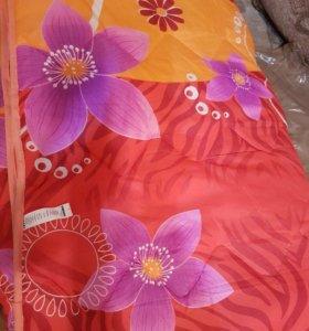 Новое одеяло на синтепоне на двуспальную кровать