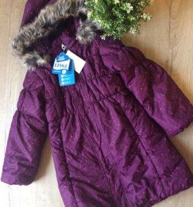 Новое зимнее пальто Lessie 110(+6)