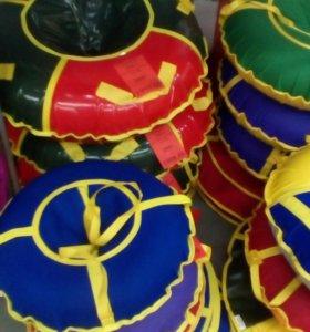 Санки ватрушка тюбинг надувные для катания с горки