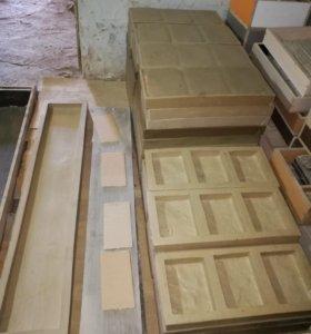Формы для производства фасадной и тротуарной плитк