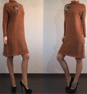 Тёплое платье (новое!)