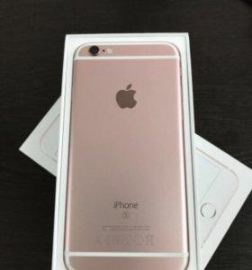 I phone 6 s rose gold 16 gb