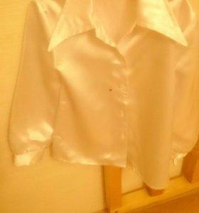 Детские блузки. Костюм.Сарафан для возраста 7-8лет