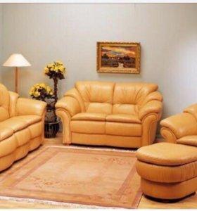 Комплект кожаной мебели Pohjanmaan