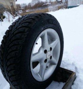 Продам колеса Goodyear зима