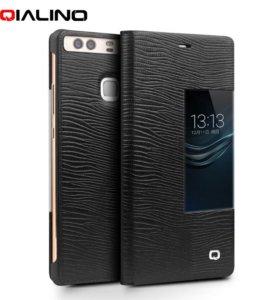 Новый кожаный чехол для смартфона Huawei P9