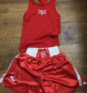Боксёрская форма Everlast red для детей