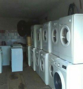 Продам бу стиральные машины с гарантией