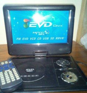 Портативный DVD плеер с TV тюнером
