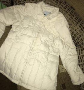 Куртка удлинённая,фирменная