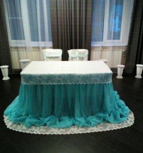 Оформление залов для свадеб, юбилеев
