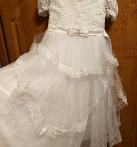 Нарядные платья на 4-7лет