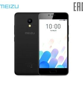 Новый Meizu M5c, Не распечатан
