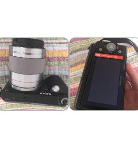 Фотоаппарат SONY NEX-F3 + оптика