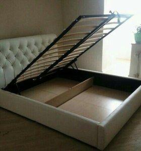 Фабричная двуспальная кровать 200*160