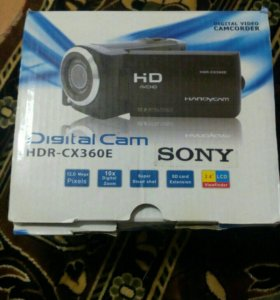 Видеокамера sony HDR-CX360Е