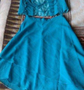 Платье-двойка