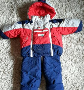 Зимний  костюм 86 см