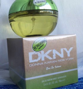 DKNY Be Delicious Eau so Intense😎😎😎