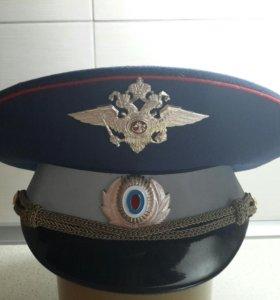 Фуражка офицерская ГИБДД