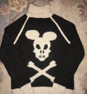 Вязаный мужской свитер Richmond. Оригинал