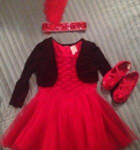 Нарядное платье 92