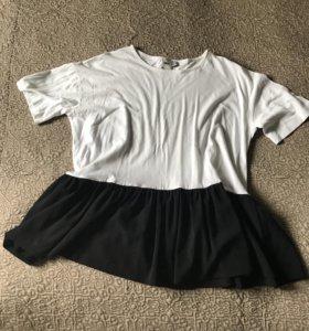 Блузка футболка Asos. Размер от xs до m
