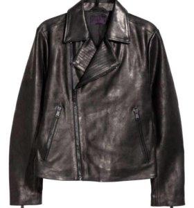 Куртка кожаная косуха H&M р.XL новая