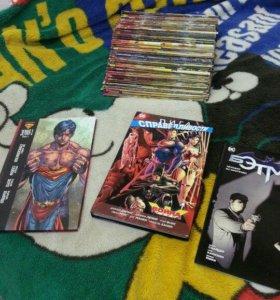 комиксы MARVEL и DC