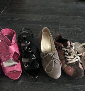 6 пар обуви 36 размер бесплатно
