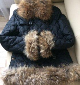 Куртка-пуховик зимняя BURBERRY оригинал