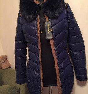 Пальто новое р.44