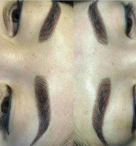 Гратаж( долговременный макияж)