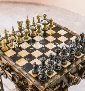Шахматы Steampunk