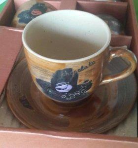 Продам новый чайный набор из 12 предметов