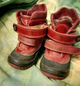 Ботинки зимние 21