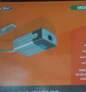 Сетевая карта D-Link DUB-E100 USB 2.0 Fast Etherne