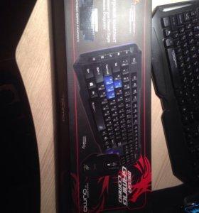 Клавиатура и мышь Gaming Combo