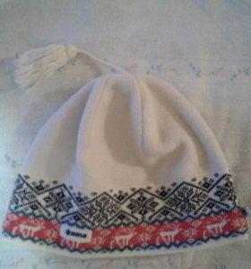 шапка унисекс. отличное состояние