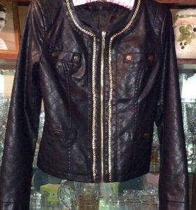Куртка эко-кожа новая