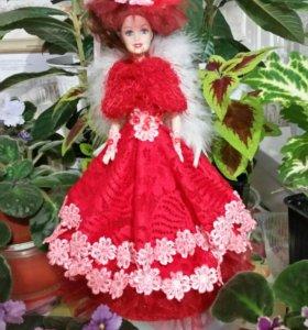 Авторская работа Кукла-шкатулка
