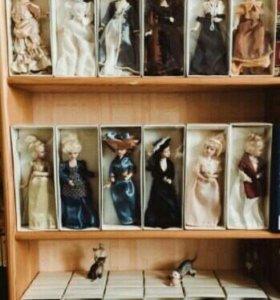 "Фарфоровые куклы ""Дамы эпохи"""