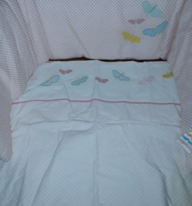 Детская постелька для кроватки колыбель.