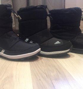 Дутики adidas новые