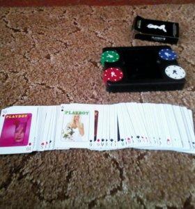 Продам покерные карты и сам покер