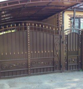 Кованые и металлические ворота