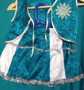 Карнавальный костюм Снежинка или Льдинка
