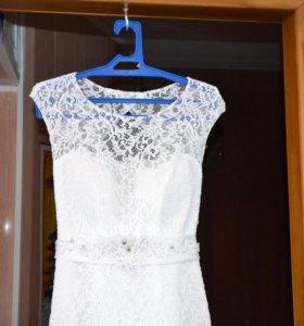 Кружевное Свадебное платье 👗